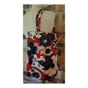 Old Navy Bags - Old Navy Floral Cotton Bag